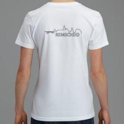 T-Shirt - Damen - Basic - RS-Skyline - Rückseite