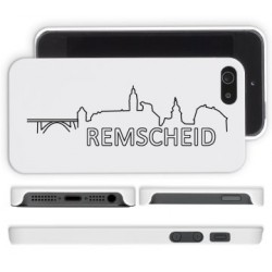 Handycover Skyline - iPhone 5 / 5s - weiss